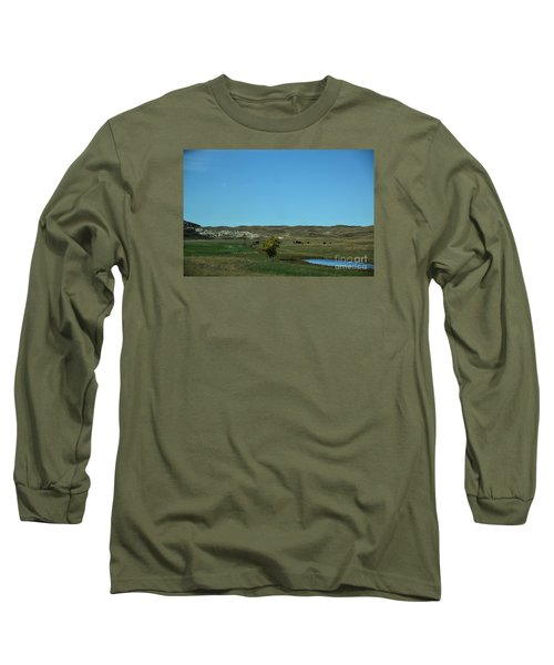 Long Sleeve T-Shirt featuring the photograph Sandhills Ranch by Mark McReynolds