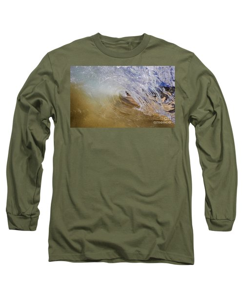 Sandy Beachbreak Wave Long Sleeve T-Shirt