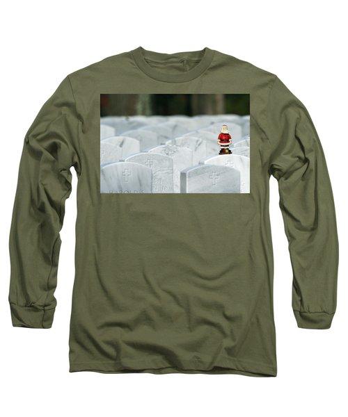 Santa Claus Calverton New York Long Sleeve T-Shirt