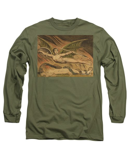 Satan Exulting Over Eve, 1795  Long Sleeve T-Shirt