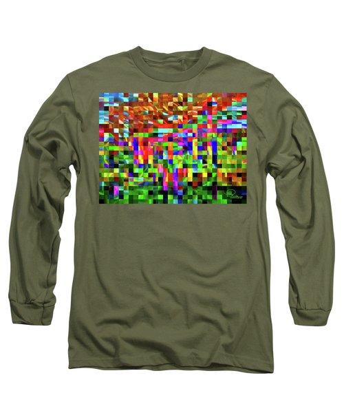 Satin Tiles Long Sleeve T-Shirt