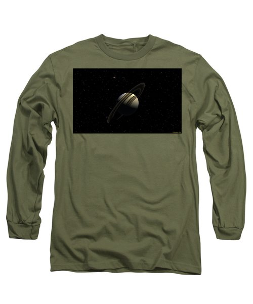 Saturn With Titan Long Sleeve T-Shirt