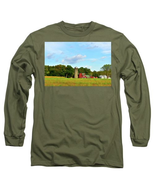 Sauer Farm, Mt. Marion Long Sleeve T-Shirt