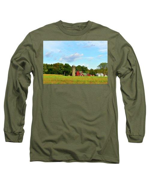 Sauer Farm, Mt. Marion Long Sleeve T-Shirt