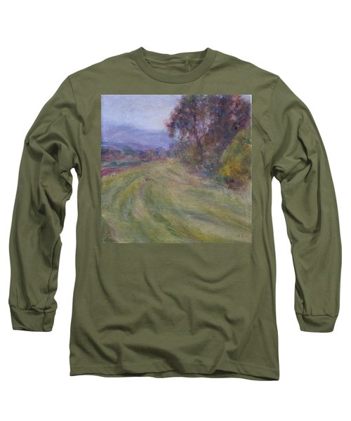 Sauvie Green Long Sleeve T-Shirt by Quin Sweetman