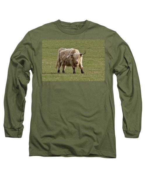 Sauvie Island Cow Long Sleeve T-Shirt