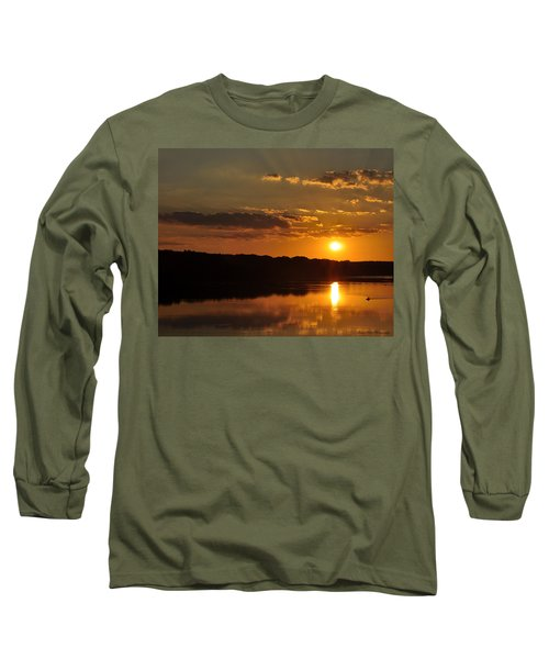 Savannah River Sunset Long Sleeve T-Shirt