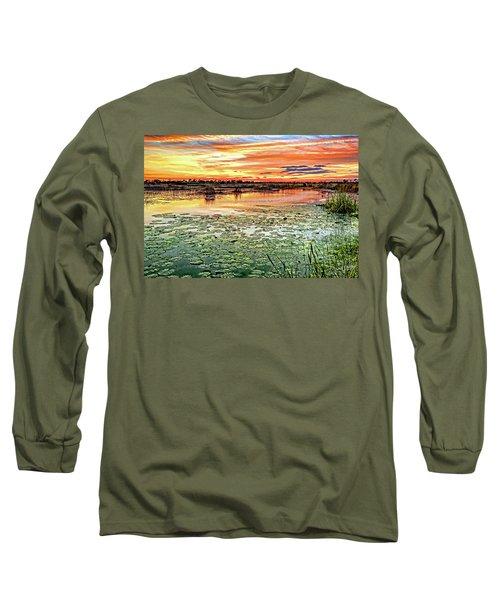 Savannas Sunset Long Sleeve T-Shirt