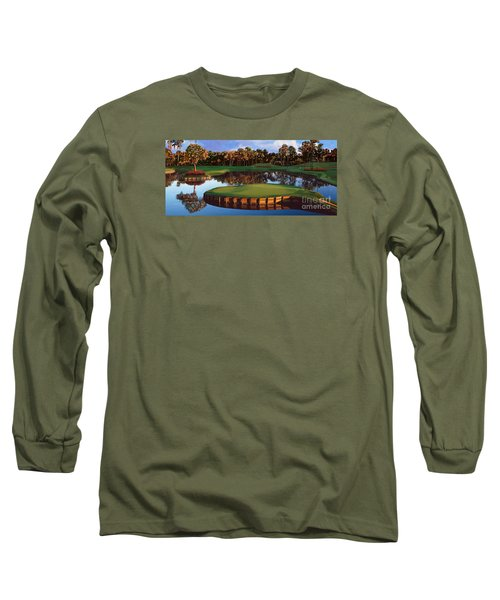 Sawgrass 17th Hole Hol Long Sleeve T-Shirt by Tim Gilliland