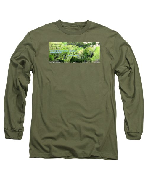 Long Sleeve T-Shirt featuring the photograph Say Nothing by David Norman