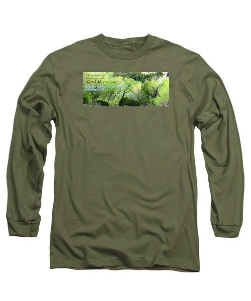 Say Nothing Long Sleeve T-Shirt by David Norman