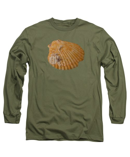Scallop Shell With Guests Transparency Long Sleeve T-Shirt