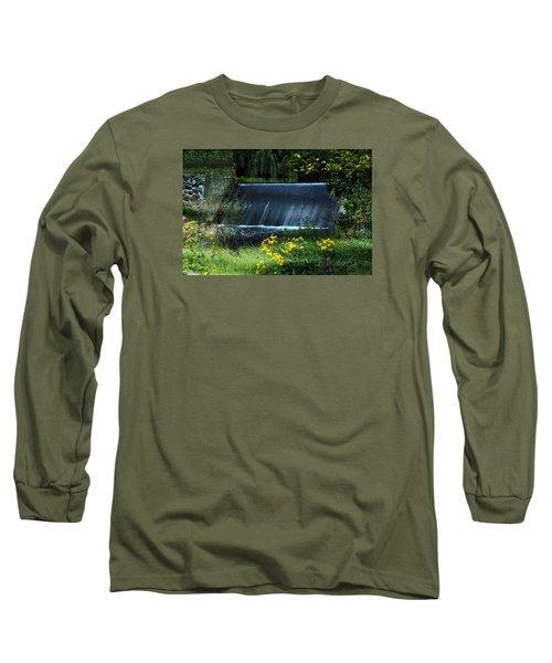 Long Sleeve T-Shirt featuring the photograph Scandinavia  Dam by Judy  Johnson