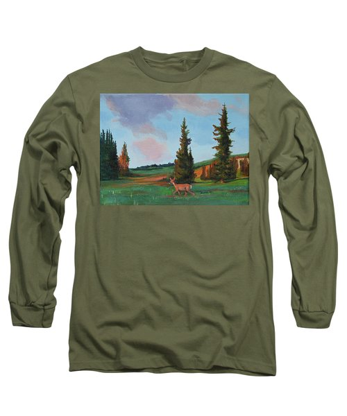 Scapegoat Summer Sunset Long Sleeve T-Shirt