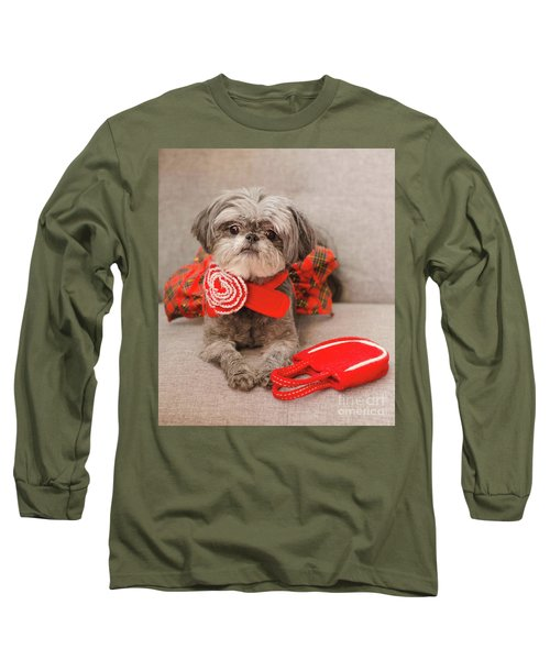 Scarlett And Red Purse Long Sleeve T-Shirt