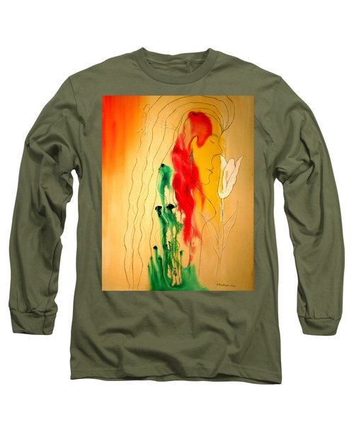 Scent Of An Orchid Long Sleeve T-Shirt