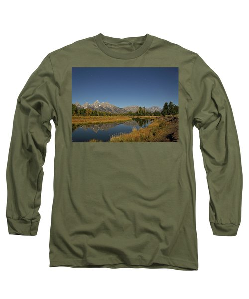 Schwabacher's Landing In Moonlight Long Sleeve T-Shirt
