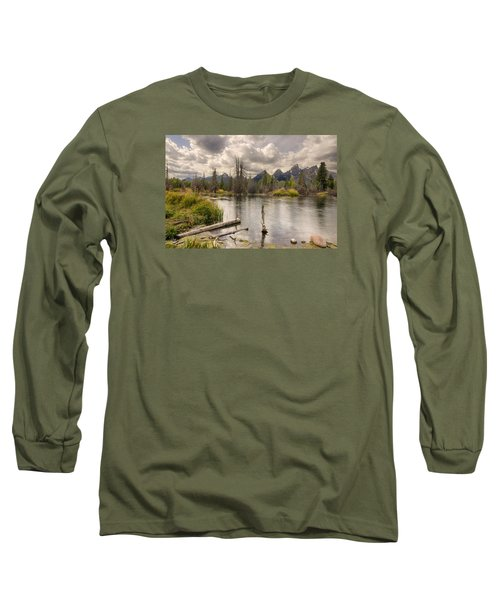 Schwabachers Landing Long Sleeve T-Shirt