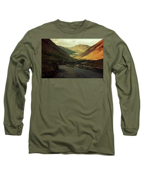 Scotland At The Sunset Long Sleeve T-Shirt by Jaroslaw Blaminsky