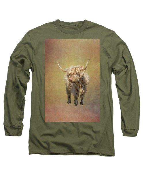 Scottish Highlander Long Sleeve T-Shirt