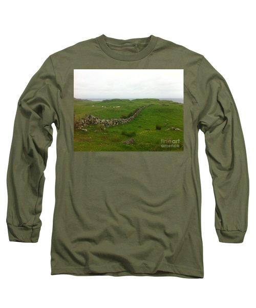 Scottish Wall Long Sleeve T-Shirt