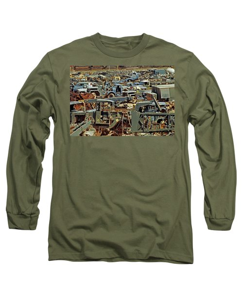 Scrap Metal-#1 Long Sleeve T-Shirt