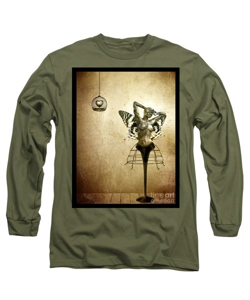 Scream Of A Butterfly Long Sleeve T-Shirt