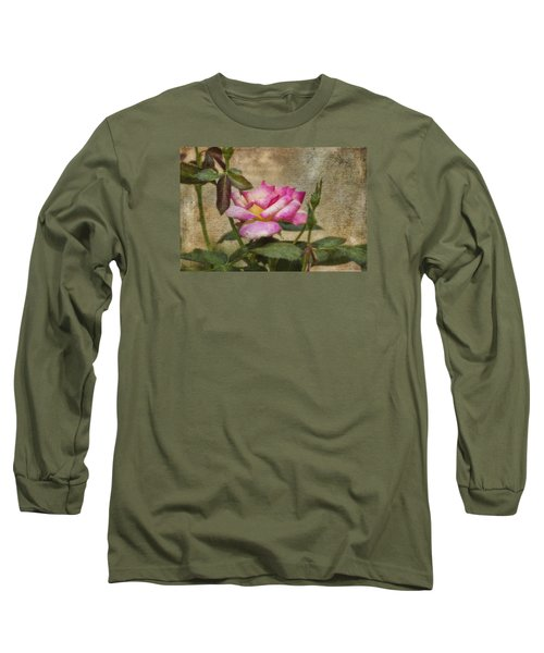 Scripted Rose Long Sleeve T-Shirt