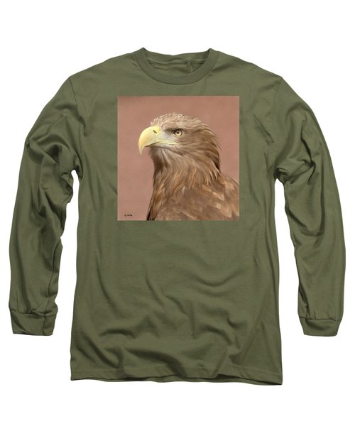 Sea Eagle Long Sleeve T-Shirt by Roy McPeak