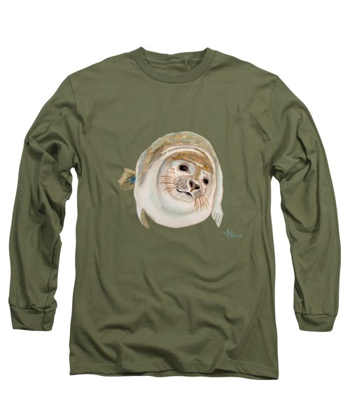 Sea Lion Watercolor Long Sleeve T-Shirt