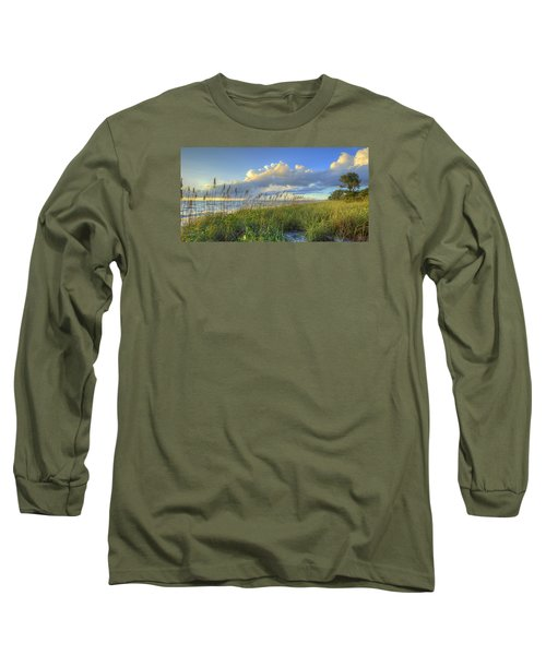Sea Oats Long Sleeve T-Shirt by Sean Allen