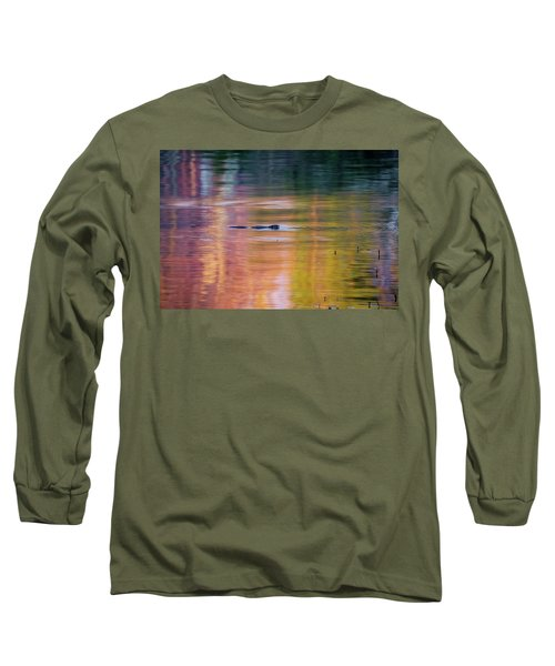 Long Sleeve T-Shirt featuring the photograph Sea Of Color by Bill Wakeley