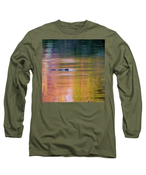 Long Sleeve T-Shirt featuring the photograph Sea Of Color Square by Bill Wakeley