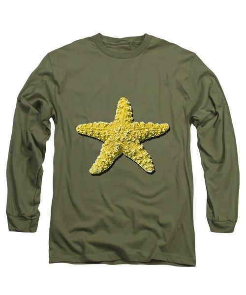 Sea Star Yellow .png Long Sleeve T-Shirt