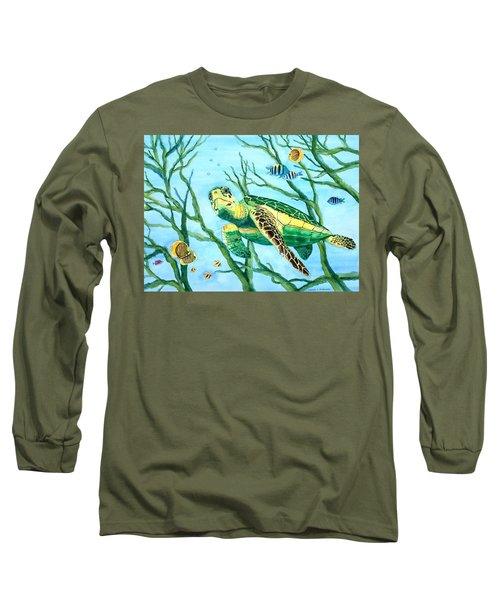 Sea Turtle Series #3 Long Sleeve T-Shirt