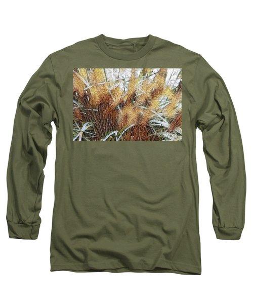 Seagrass Long Sleeve T-Shirt by Judy Palkimas