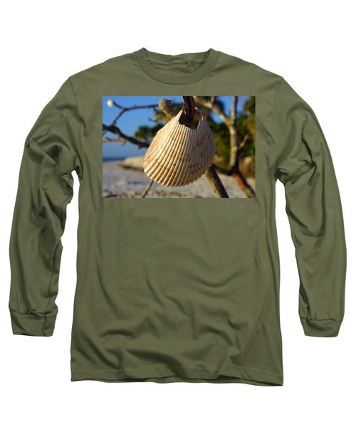 Cockelshell On Tree Branch Long Sleeve T-Shirt