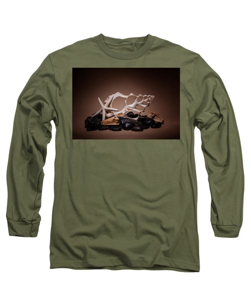 Seashells On The Rocks Long Sleeve T-Shirt