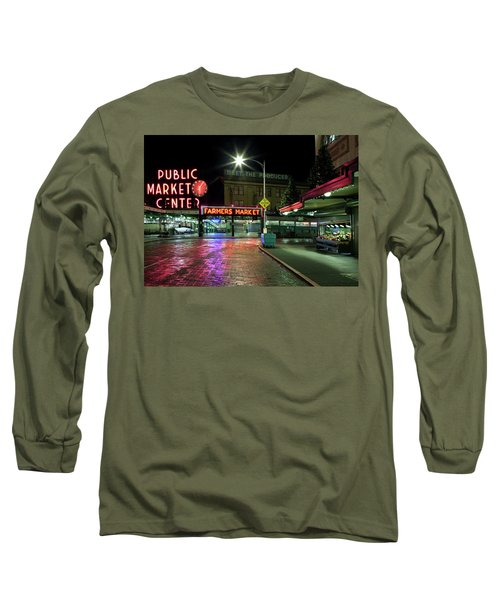 Seattle Public Market 1 Long Sleeve T-Shirt