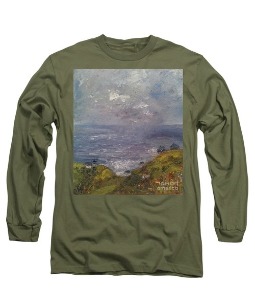 Seaview Long Sleeve T-Shirt by Genevieve Brown