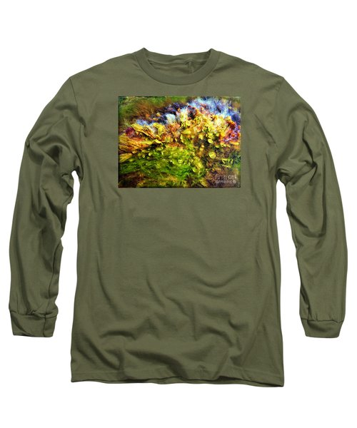 Seaweed Grunge Long Sleeve T-Shirt by Todd Breitling