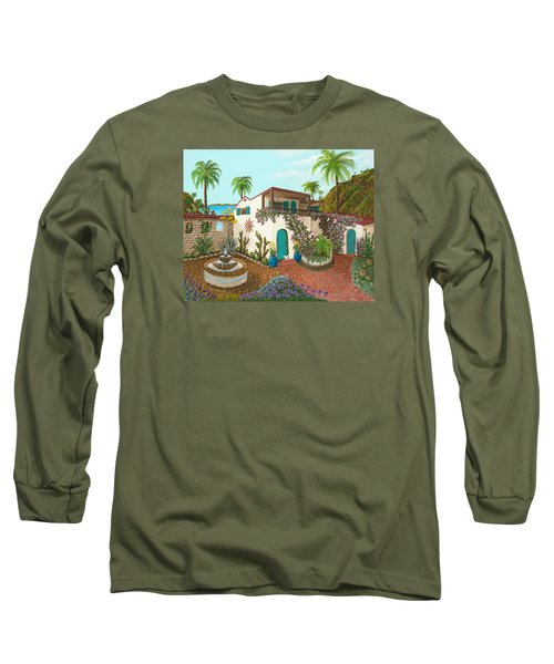 Secluded Paradise Long Sleeve T-Shirt by Katherine Young-Beck