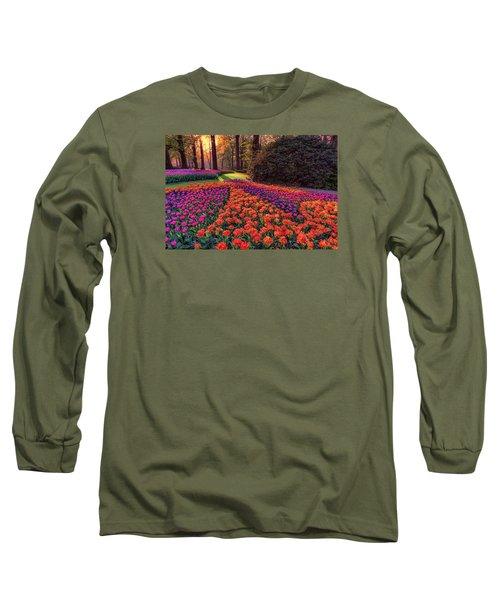 Secret Garden Long Sleeve T-Shirt by Nadia Sanowar