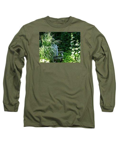 Secret Garden Long Sleeve T-Shirt by Tina M Wenger