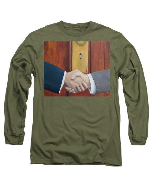 Secret Handshake Long Sleeve T-Shirt