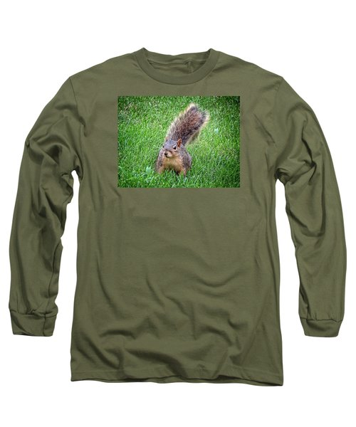 Secret Squirrel Long Sleeve T-Shirt by Kyle West
