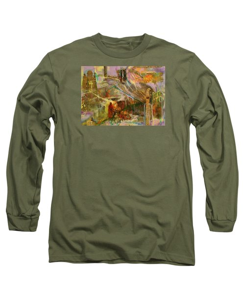 Secrets Long Sleeve T-Shirt by Mary Schiros