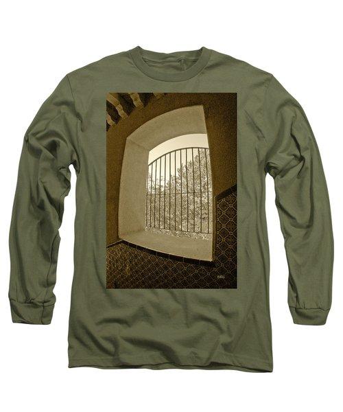 Sedona Series - Through The Window Long Sleeve T-Shirt by Ben and Raisa Gertsberg
