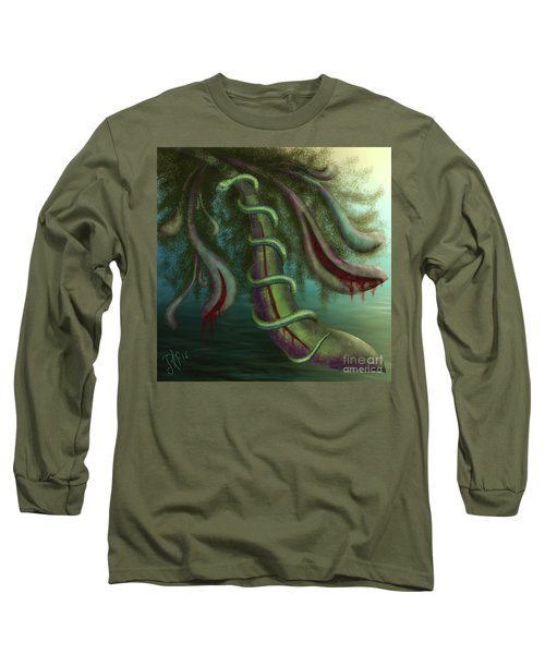 Seed Constrictor Long Sleeve T-Shirt by Rosa Cobos