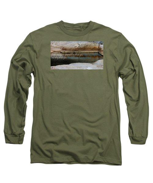 Long Sleeve T-Shirt featuring the photograph Seek Deeper by David Norman